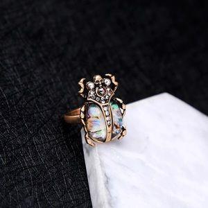 Beetle Metallic ring ✨